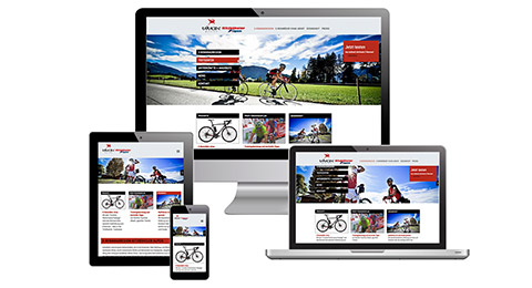 e-rennrad.at / Responsive Webdesign / CMS
