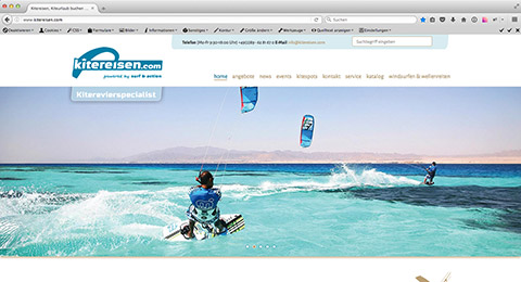 Surf & Action Company Oberhaching /  Realisierung, Programmierung